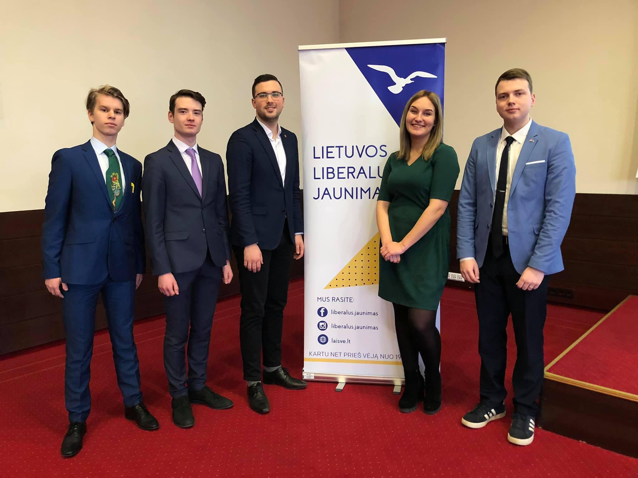 Viesojamies mūsu Lietuvas draugu un sadarbības partneru Lietuvos liberalus jaunimas 32. kongresā