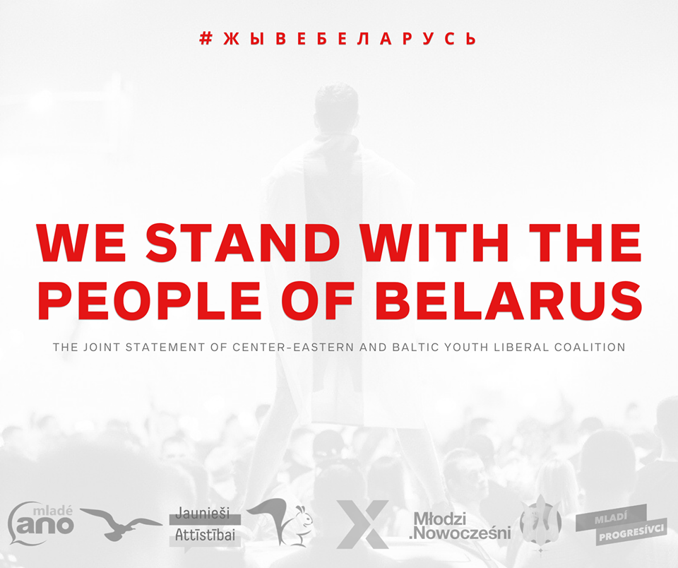 WE STAND WITH THE PEOPLE OF THE BELARUS!